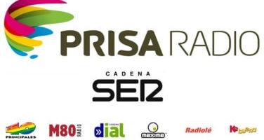 Mención en la radio del grupo Prisa