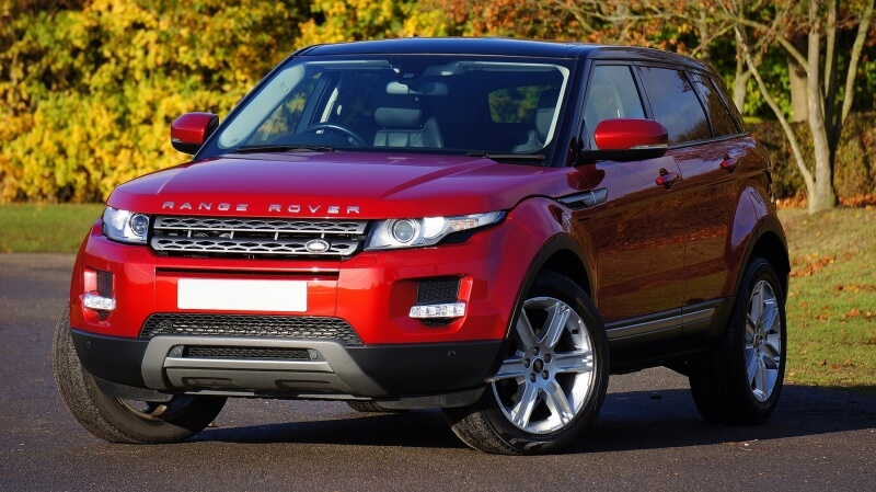 renting land rover