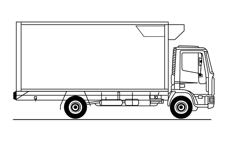 Iveco Eurocargo ML180E25 Frigo 18 P.