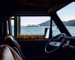 Interior de vehiculo