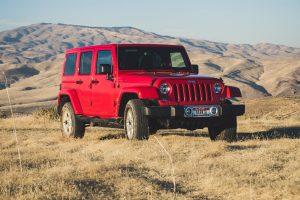 renting de coches Jeep